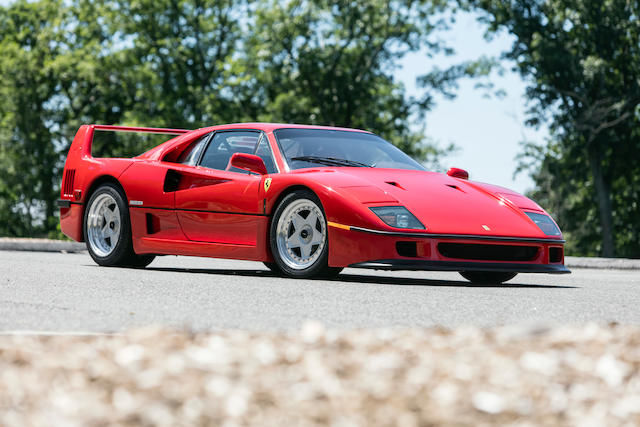 Bonhams 1990 Ferrari F40 Vin Zffmn34a6l0087030 Engine No 24113