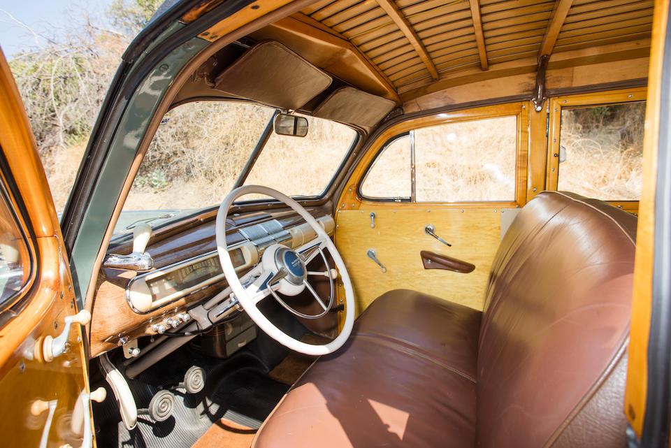 <b>1941 Mercury Model 19A Station Wagon</b><br />  Chassis no. 99A-380723