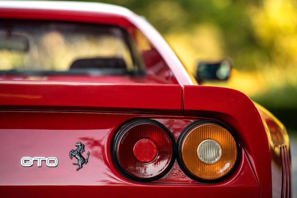 <b>1984  Ferrari 288 GTO</b> <br />VIN. ZFFPA16B000053301 <br /> Engine no. F114B00047
