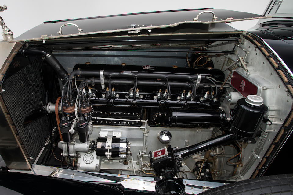 <b>1927 Rolls-Royce Phantom 1 Regent Convertible Coupe</b><br />Chassis no. S82PM<br />Engine no. 20826