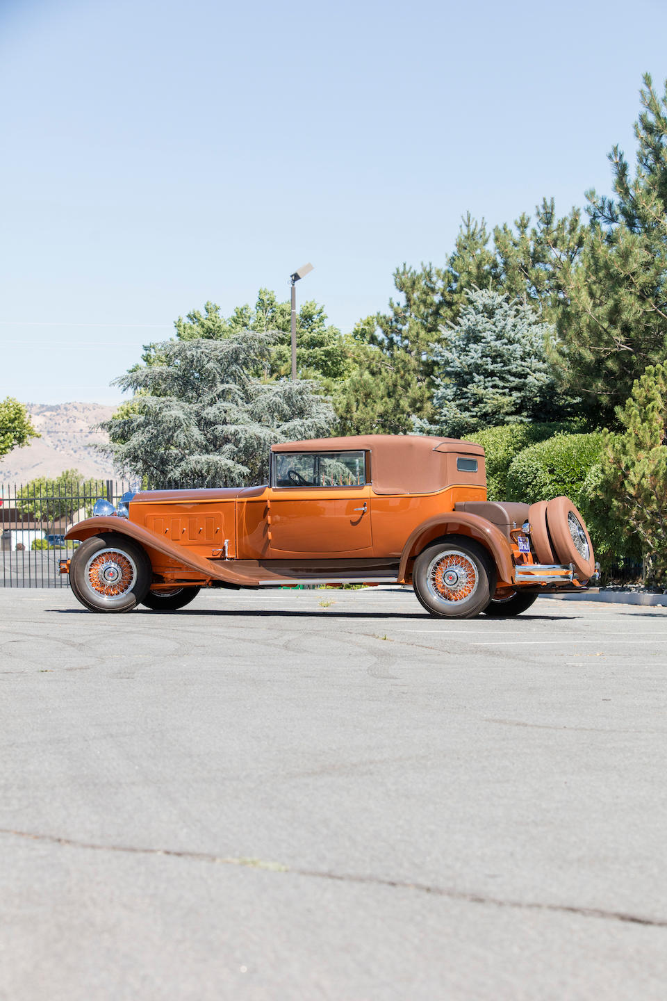 <b>1930 Packard Deluxe Eight 745 Convertible Victoria</b><br /> Chassis no. 179019/179021