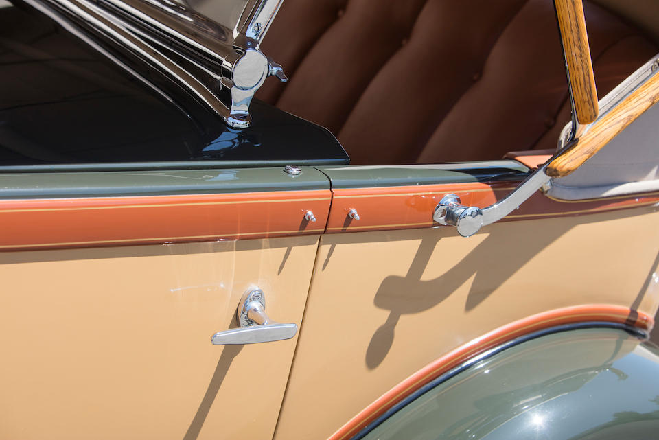 <b>1931 Packard 840 DeLuxe Eight Dual Cowl Sport Phaeton</b><br />Chassis no. 190397