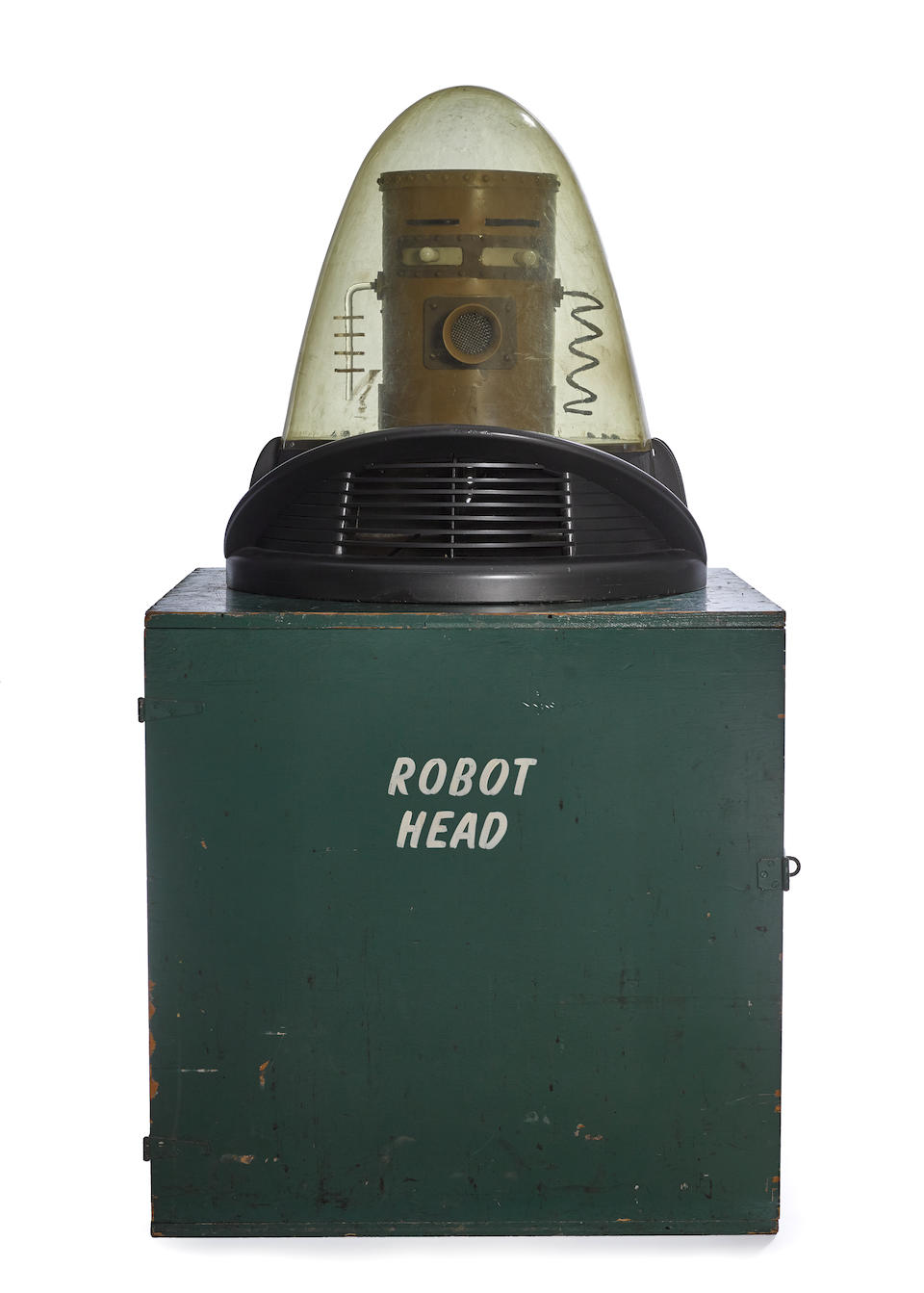 The iconic original Robby the Robot suit and Jeep from Forbidden Planet