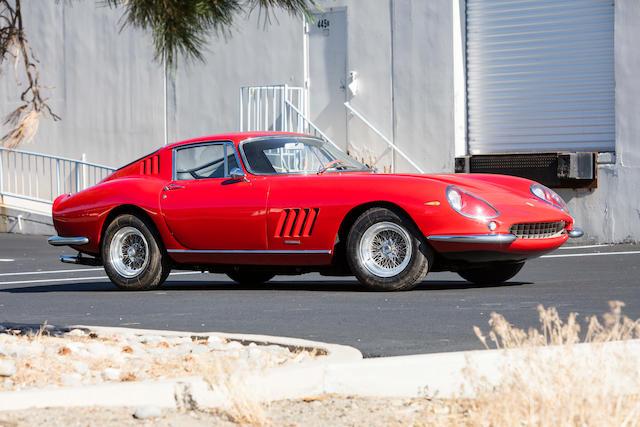 <b>1967 Ferrari 275 GTB/4</b><br />Chassis no. 10507<br />Engine no. 1886