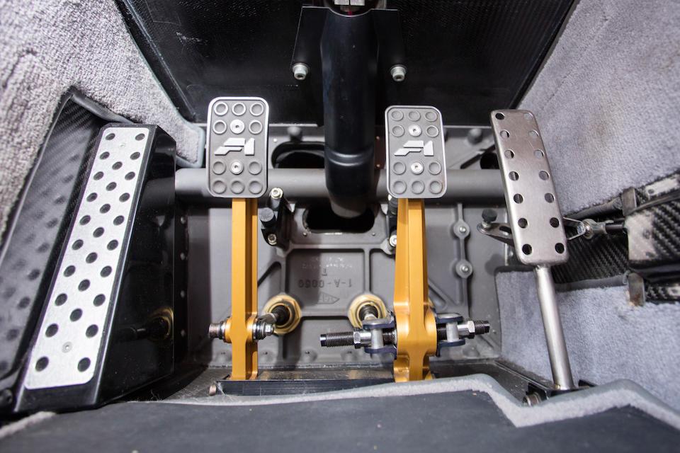 <b>1995 Mclaren F1</b><br /> Chassis no. SA9AB5AC5S1048044<br /> Engine no. 61121 6070 0992