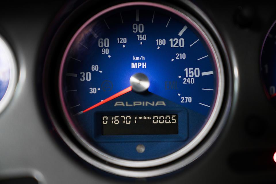 <b>2003 BMW Alpina V8 Roadster</b><br /> VIN. WBAEJ13423AH62283