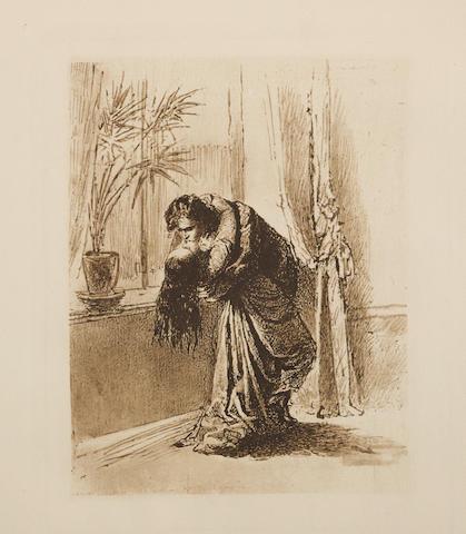 ZICHY, MICHAEL VON. 1827-1906. Liebe. Leipzig: privately printed, 1911.