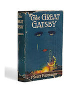 FITZGERALD, F. SCOTT. 1896-1940.   The Great Gatsby. New York: Charles Scribner's Sons, 1925.