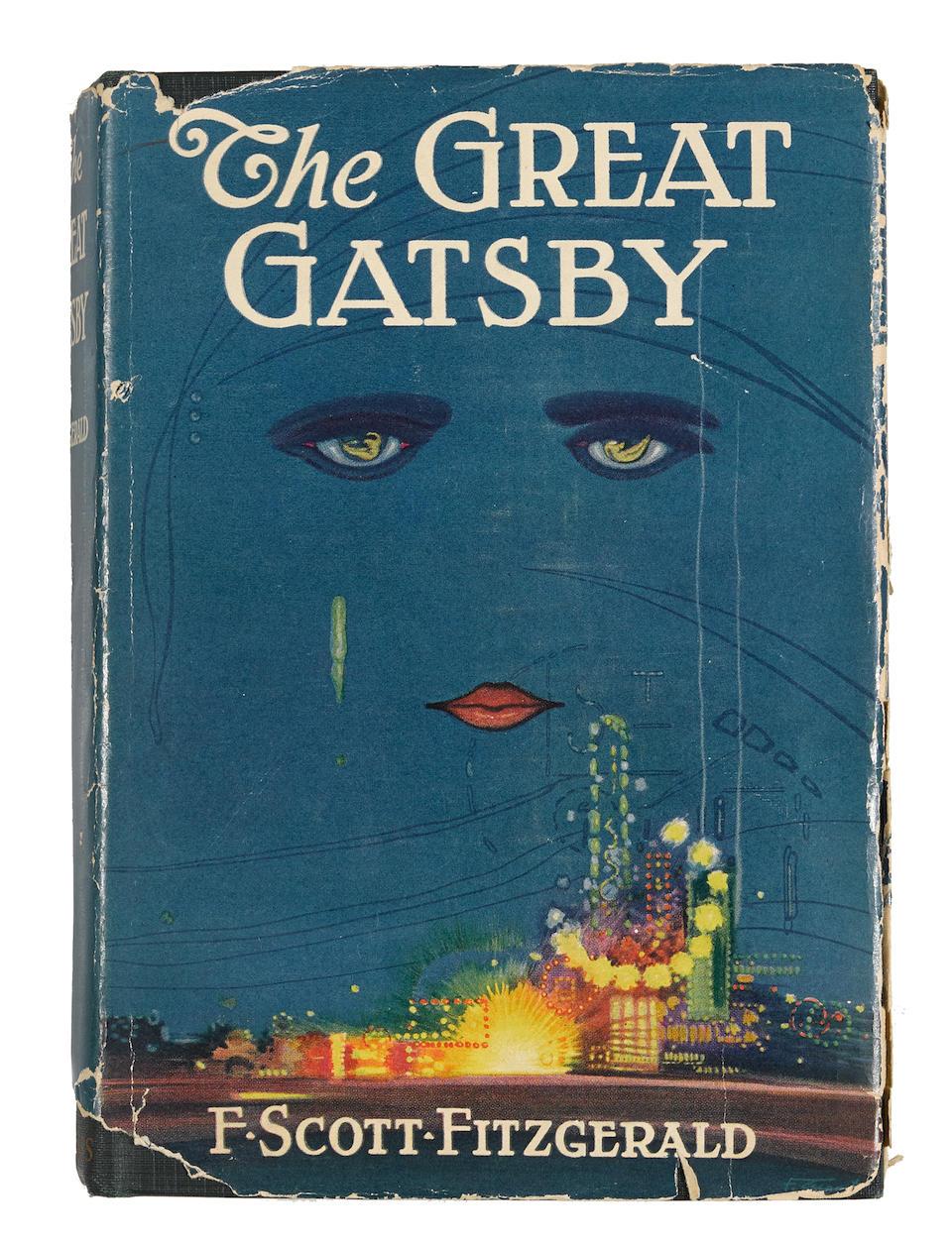 FITZGERALD, F. SCOTT. 1896-1940.   The Great Gatsby. New York: Charles Scribner's Sons, 1925.