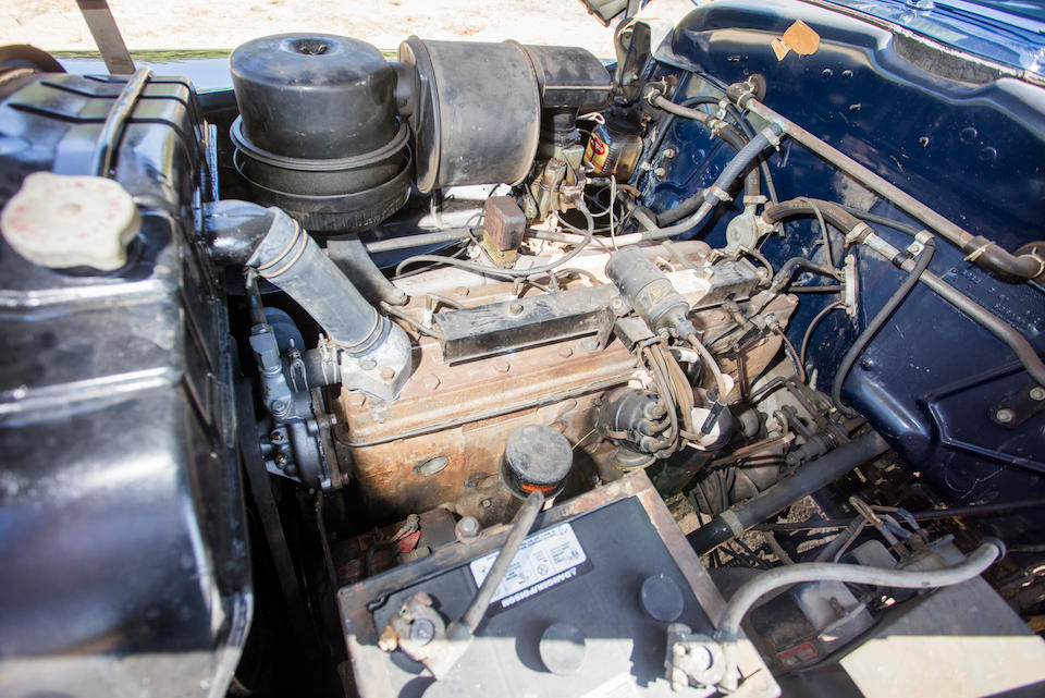 <b>1948 Chrysler Town & Country Convertible</b><br />Chassis no. 7407270<br />Engine no. C39-67290