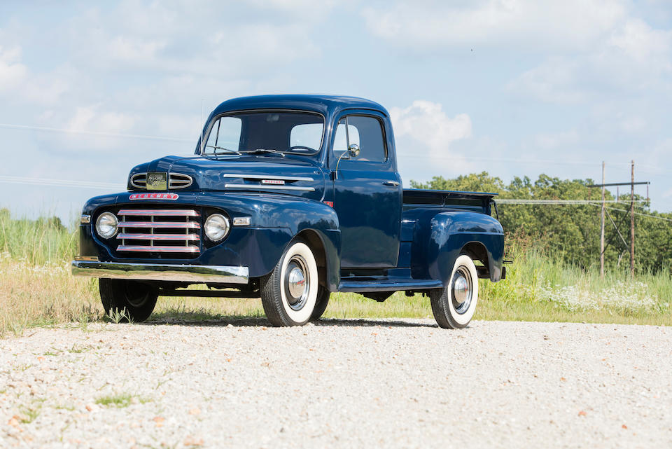 <b>1949 Mercury of Canada Pickup</b><br />Chassis no. MD 83H49-20861<br />Engine no. 9E-17329