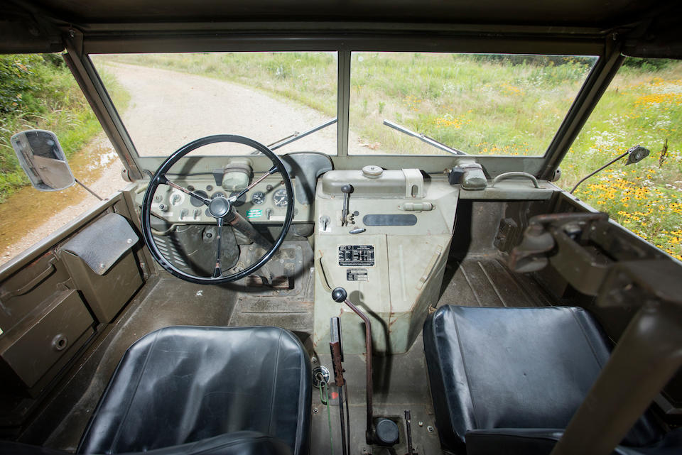 <b>1963 MERCEDES-BENZ UNIMOG 404</b><br />Chassis no. 404.114-02228396<br />Engine no. 180010052