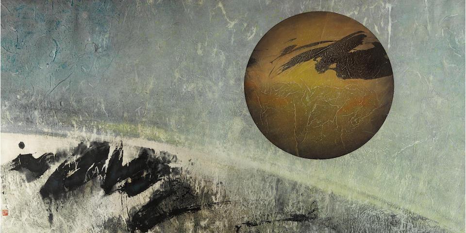 Liu Guosong (Liu Kuo-Sung, born 1932) Which is Earth? D, 1969
