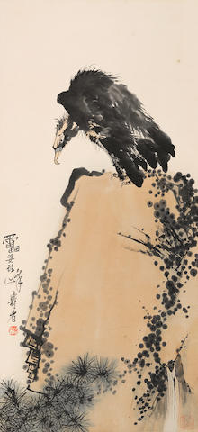 Pan Tianshou (1897-1971)  Vulture