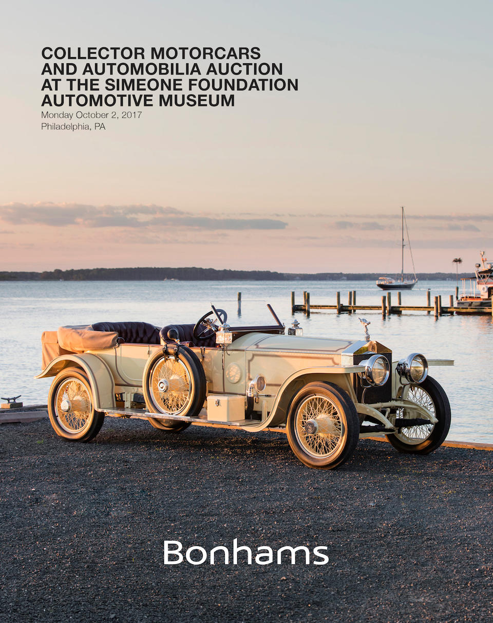<b>1913 Rolls-Royce 40/50hp Silver Ghost 'London-to-Edinburgh' Sports Tourer</b><br />Chassis no. 2380<br />Engine no. 99.B.