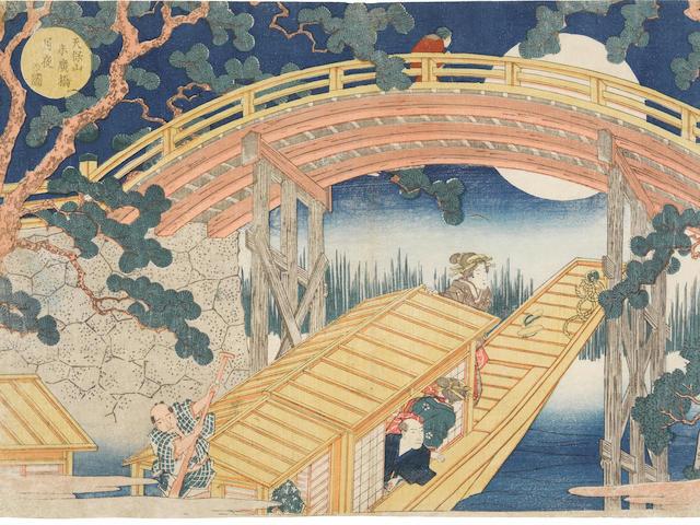 Yashima Gakutei (1786-1868)  Edo period (1615-1868), circa 1834