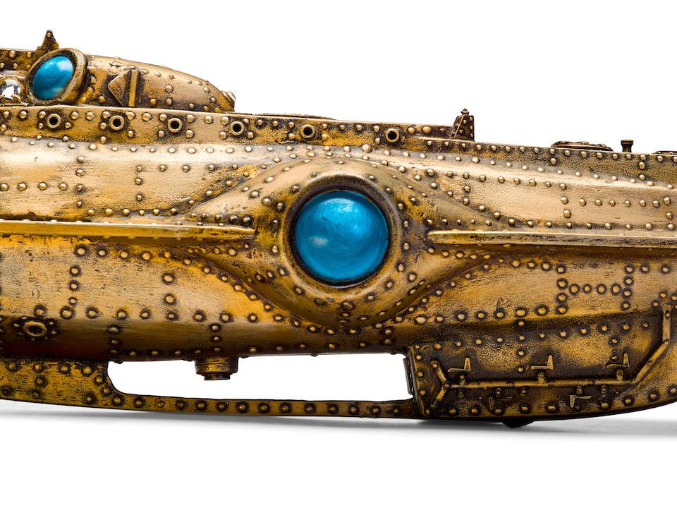 A Harper Goff-owned model replica of the Nautilus submarine