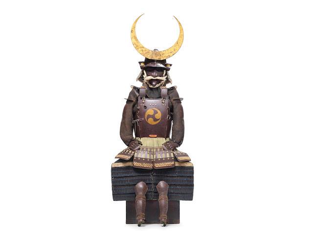 A Nanban-style suit of armor (tosei gusoku) Edo period (1615-1868), 18th century