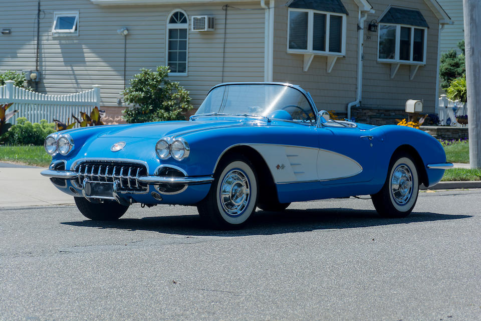 <b>1960 Chevrolet Corvette Convertible</b><br />Chassis no. 00867S101705<br />Engine no. T08100F (See Text)