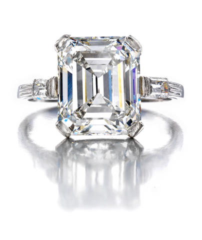 An Art Deco diamond ring,