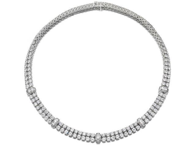 A diamond necklace, Cartier