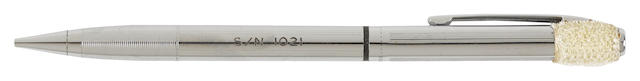MECHANICAL PENCIL FLOWN TO THE SURFACE OF THE MOON, APOLLO XV