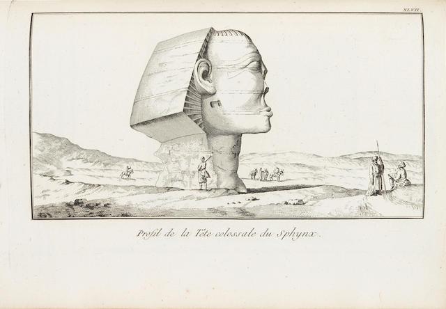 bonhams norden frederic louis 1708 1742 voyage d. Black Bedroom Furniture Sets. Home Design Ideas