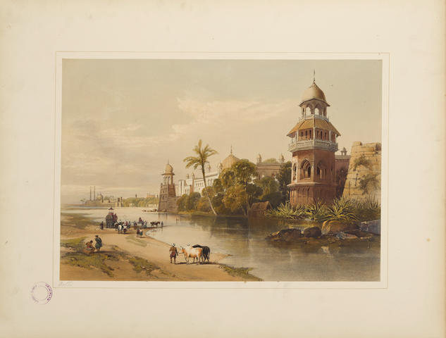 HARDINGE, CHARLES STEWART. 1822-1894. Recollections of India. Drawn on Stone by J.D. Harding from the Original Drawings ... Part I: British India and the Punjab. Part II Kashmir and the Alpine Punjab. London: Thomas M'Lean, 1847.