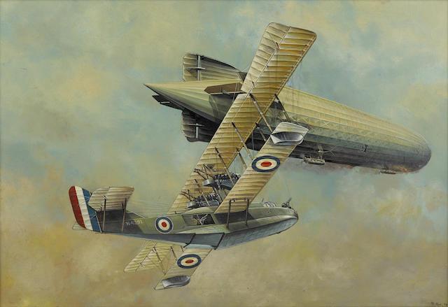 WORLD WAR I AVIATION: FELIXSTOWE F.2A