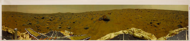 PANORAMIC VIEW OF THE SURFACE OF MARS FROM PATHFINDER
