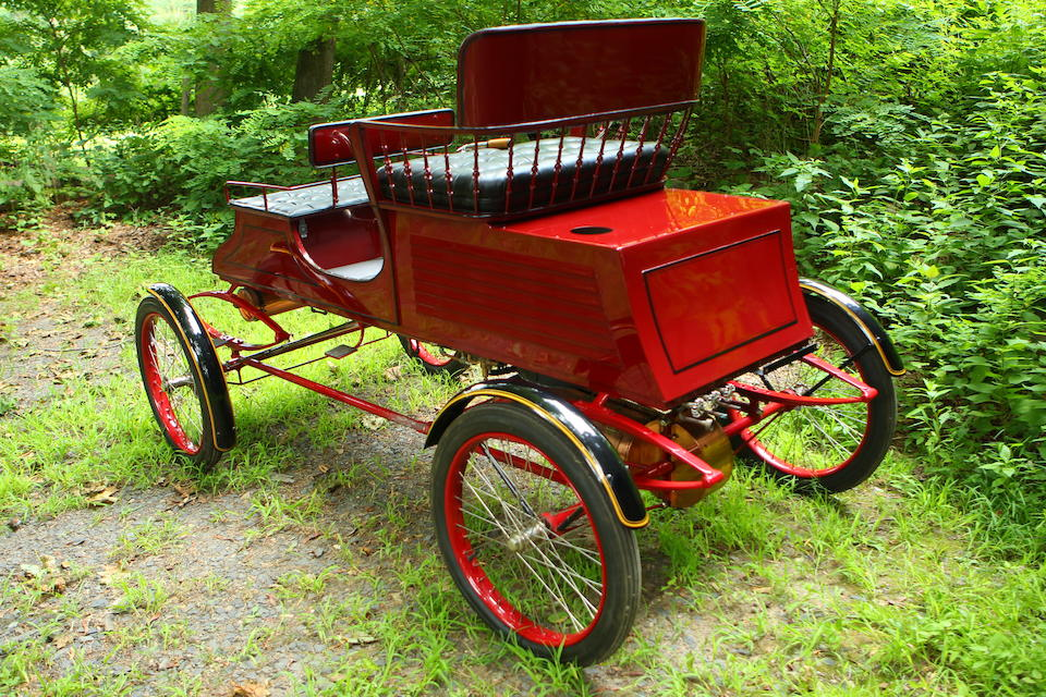 <b>1903 Stanley Type C 6.5 HP Two/Four Seater Runabout</b><br />Body no. 392<br />Engine no. 492