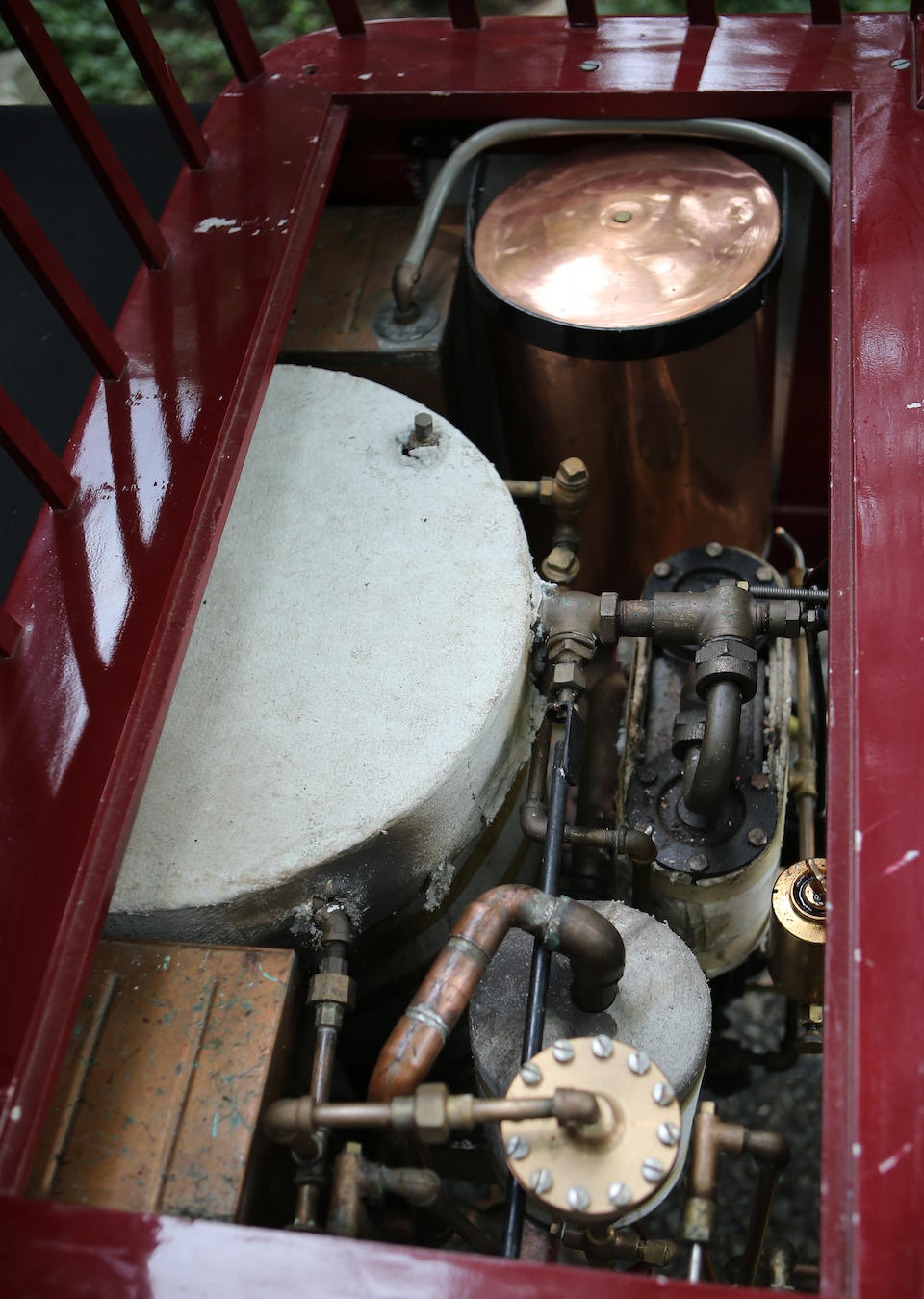 <b>1900 Mobile MODEL 4 5.5HP STEAM RUNABOUT</b><br />Chassis no. 3137