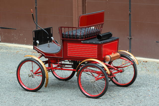 <b>1900 Locomobile STYLE 2 5.5HP STEAM RUNABOUT</b>