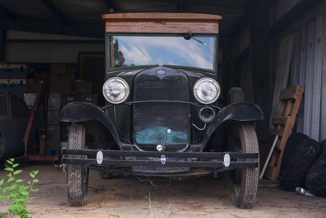 <b>1931 Ford MODEL A Huckster Conversion</b><br />Engine no. A6T176