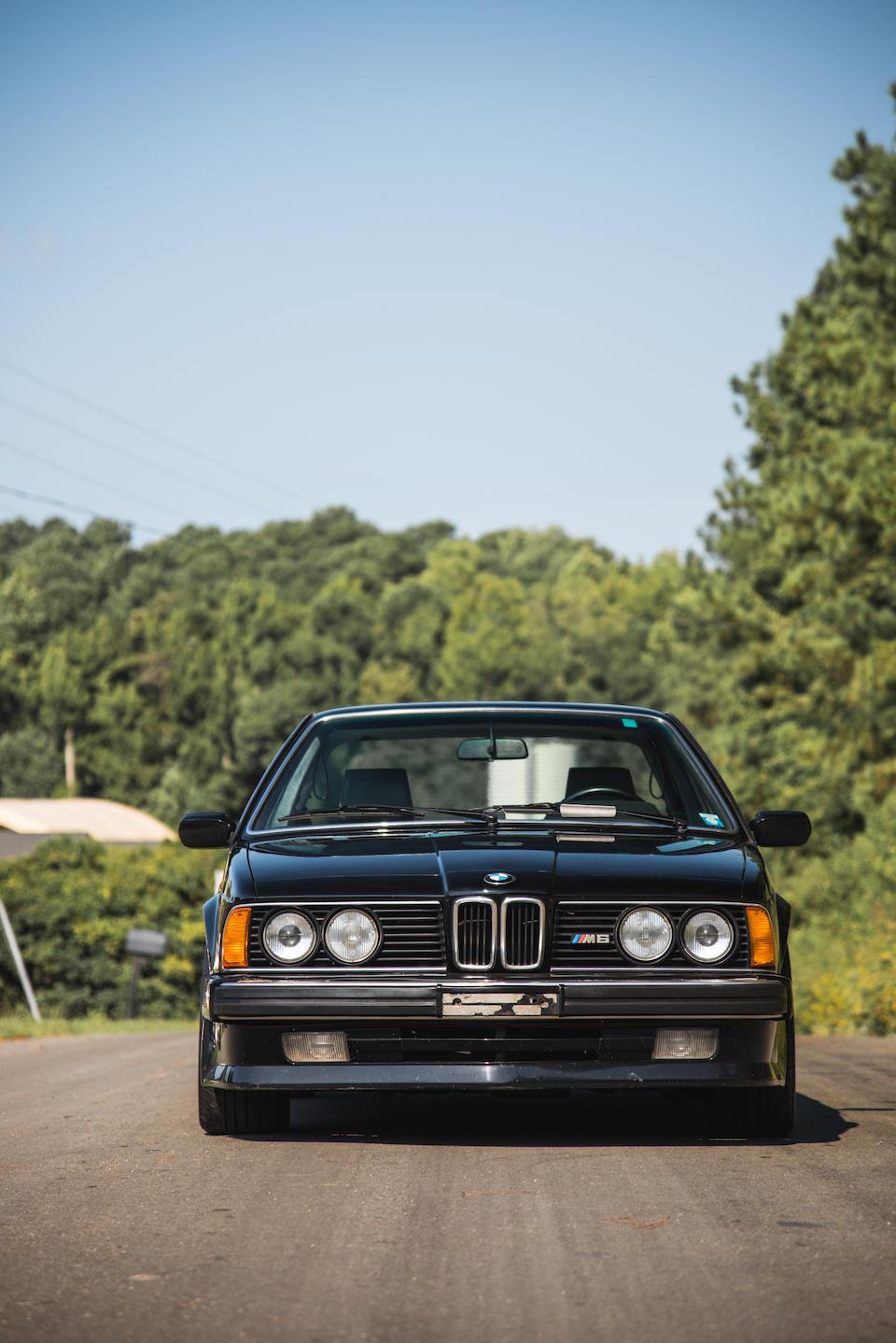 <b>1988 BMW M6 Coupe</b><br />VIN. WBAEE1404J2561635