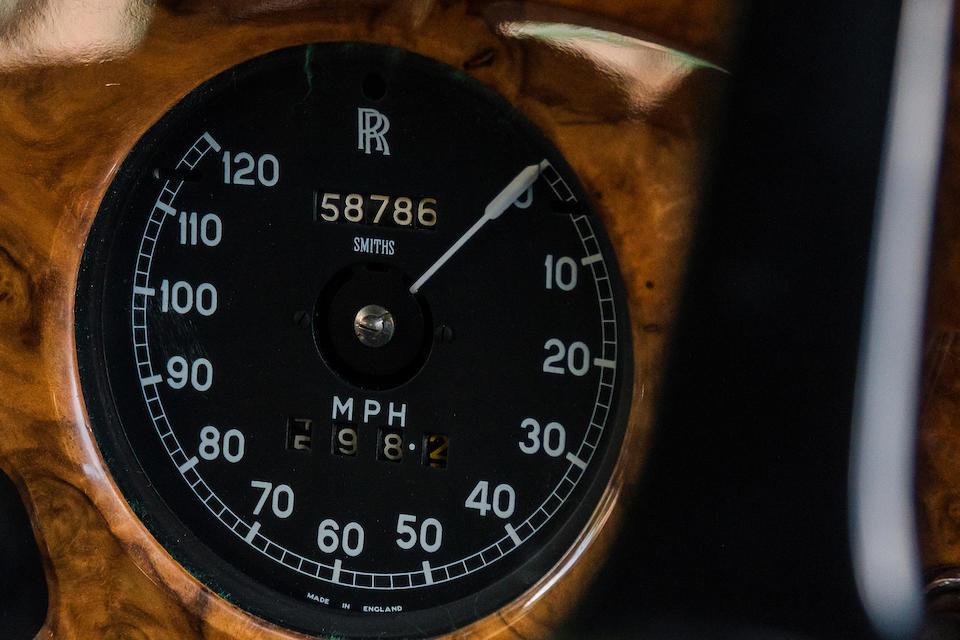 <B>1963 ROLLS-ROYCE SILVER CLOUD III SALOON</B><br />Chassis no. SFU 153<br />Engine no. S 2157
