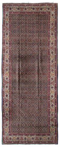 A Tabriz carpet Northwest Persia dimensions approximately 10ft 7in x 22ft (322.5 x 670.5cm)