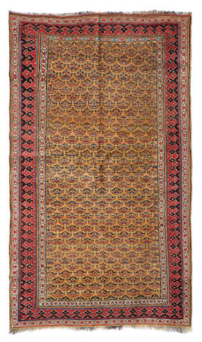 A Bidjar carpet Northwest Persia dimensions approximately 8ft x 5ft (244 x 152.5cm)