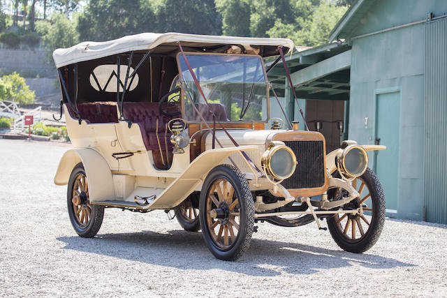 <b>1910 Winton 48-HP Model 17A Seven-Passenger Touring</b><br />Chassis no. 9464<br />Engine no. 9464<br />Body no. 461
