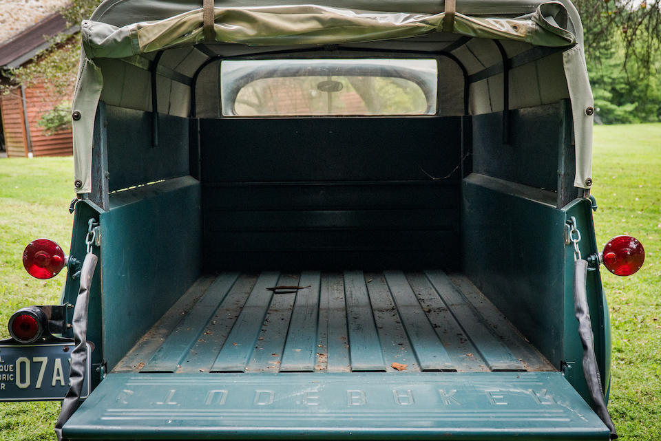 <b>1950 STUDEBAKER MODEL 2R612 1/2 TON PICKUP WITH BOX AND COVER</b><br />Chassis no. R6-448