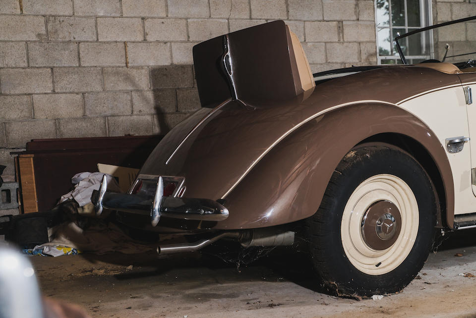 <b>1937 MERCEDES-BENZ 230N Roadster</b><br />Chassis no. 244551<br />Engine no. 155082