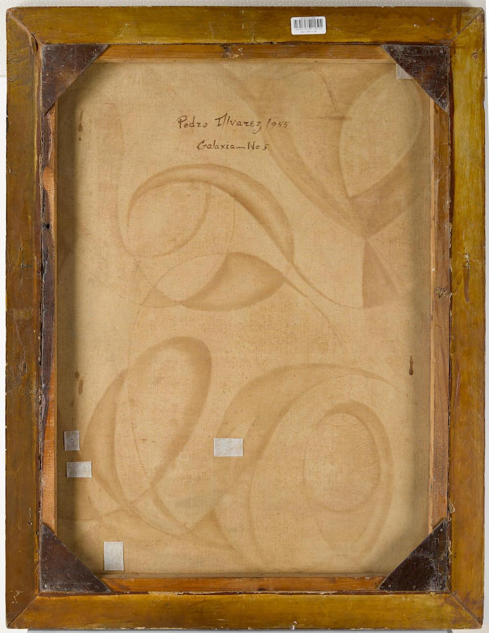 Pedro Alvarez (1967-2004) Galaxia - No.5 31 3/8 x 23 3/8 in (79.7 x 59.6 cm) (Painted in 1955)