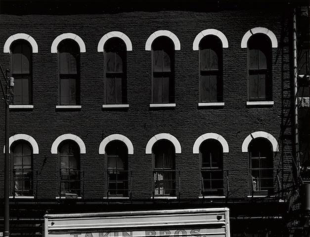 Aaron Siskind (1903-1991); Chicago Facade 7;