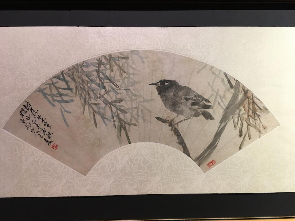 Wang Zhen (1867-1938) Bird, 1919