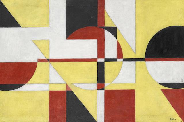 Sandú Darié (1908-1991) Sin título 15 3/4 x 23 3/4 in (40 x 60.3 cm)