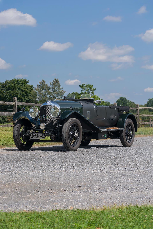 Arthur Bonnet Le Mans bonhams : 1929 bentley 4.5 liter 'le mans replica' fabric