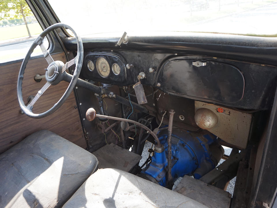 <b>1935/36 Ford Panel Delivery Truck</b><br />Chassis no. 182875888