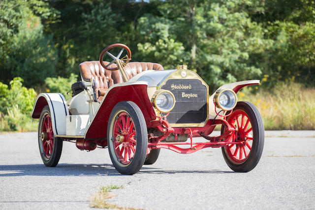 Bonhams 1910 stoddard dayton 10c raceabout 4 seat for Motor technology inc dayton ohio