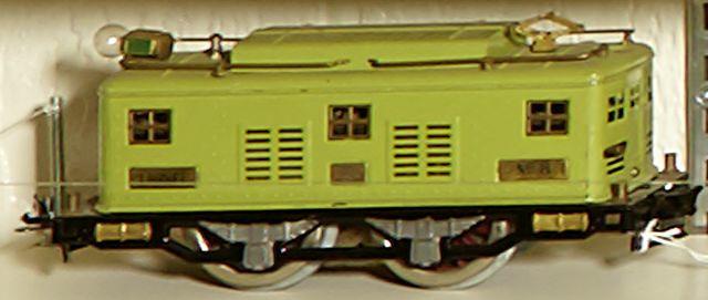 Lionel 8 Standard gauge 0-4-0 electric locomotive, 1925-1932,