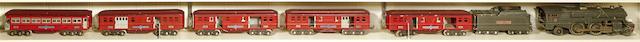 Lionel 392E Standard gauge 4-4-2 'steam' locomotive,